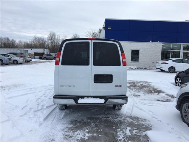 2018 GMC Savana 2500 Work Van (Stk: P31111) in Smiths Falls - Image 4 of 7