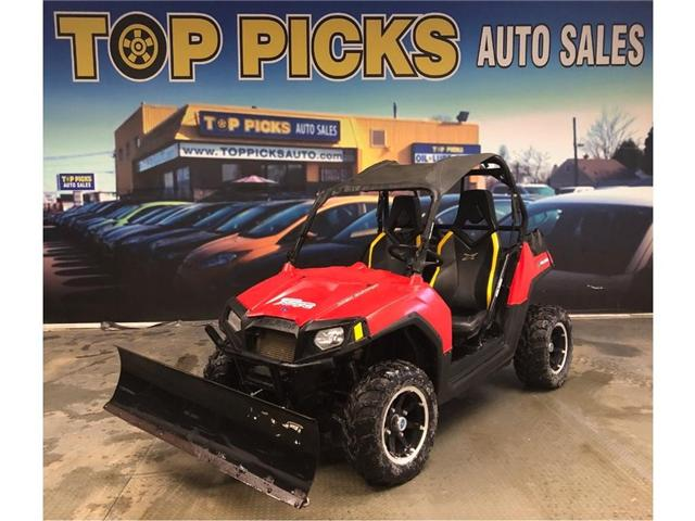 2013 Polaris RZR 800 800, 4x4, With Plow!! (Stk: RZR) in NORTH BAY - Image 1 of 12