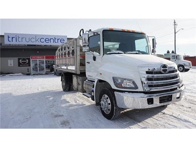 2018 Hino 258 w/XR7L, Toolbox, Pintle Plate & Tow Pkg - (Stk: HLTW13010A) in Barrie - Image 1 of 7