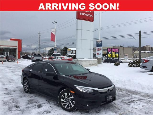 2016 Honda Civic EX (Stk: 9C379A) in Hamilton - Image 1 of 1