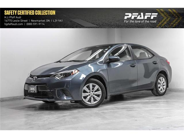 2015 Toyota Corolla LE (Stk: 53135) in Newmarket - Image 1 of 18