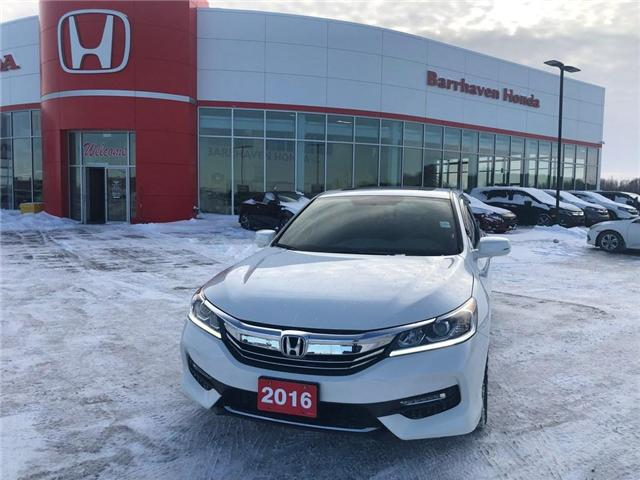 2016 Honda Accord Sport (Stk: 1235A) in Nepean - Image 1 of 22