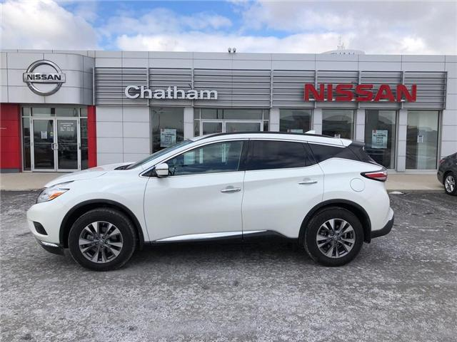 2017 Nissan Murano S (Stk: 8354A) in Chatham - Image 1 of 17
