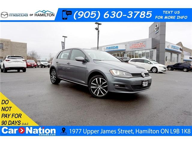 2016 Volkswagen Golf  (Stk: HN1851A) in Hamilton - Image 1 of 30
