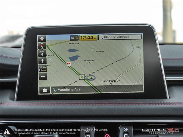 2019 Genesis Genesis G70 4DR AT AWD SPORT (Stk: 184389) in Markham - Image 19 of 25