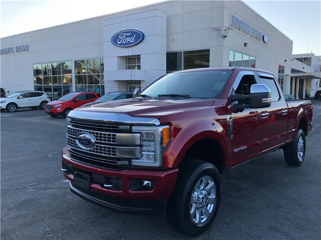 2018 Ford F-350 Platinum 1FT8W3BT0JEB01764 LP1923 in Vancouver