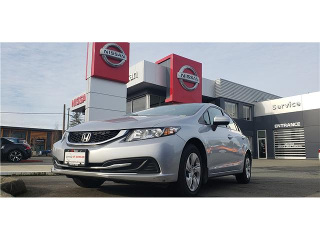 2014 Honda Civic LX (Stk: 8R7892A) in Duncan - Image 1 of 3