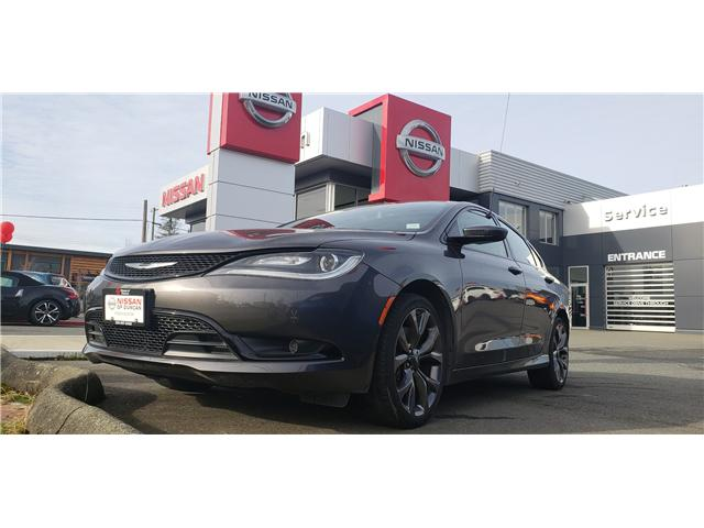 2015 Chrysler 200 S (Stk: 8M8031A) in Duncan - Image 1 of 3
