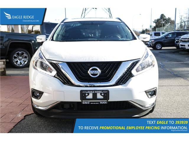 2018 Nissan Murano SV (Stk: 189369) in Coquitlam - Image 2 of 17