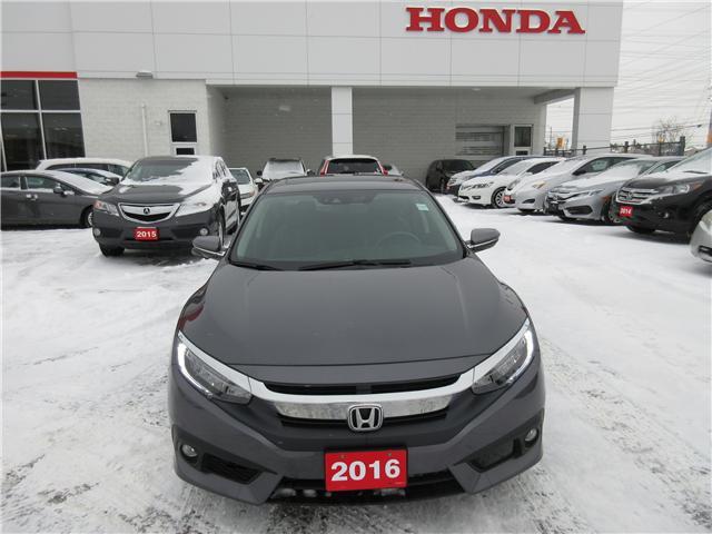 2016 Honda Civic Touring (Stk: 26147L) in Ottawa - Image 2 of 11