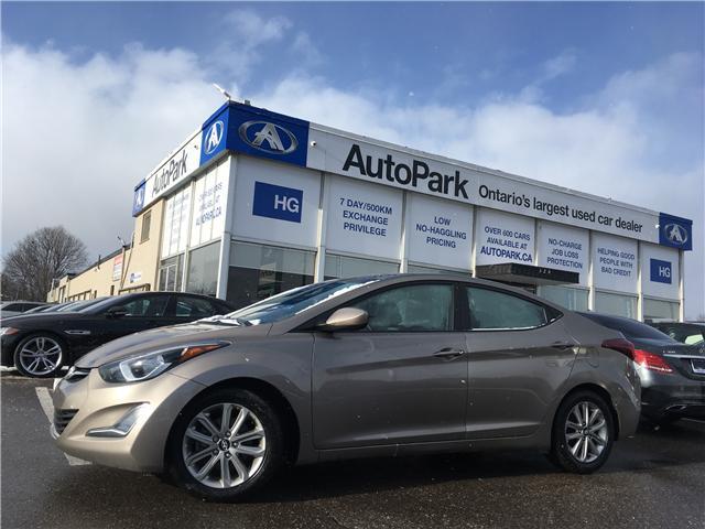 2014 Hyundai Elantra GLS (Stk: 14-85343) in Brampton - Image 1 of 27