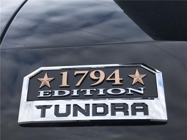 2019 Toyota Tundra 1794 Edition Package (Stk: 190136) in Cochrane - Image 2 of 27