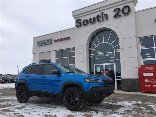 2019 Jeep Cherokee Trailhawk (Stk: 32157) in Humboldt - Image 1 of 25
