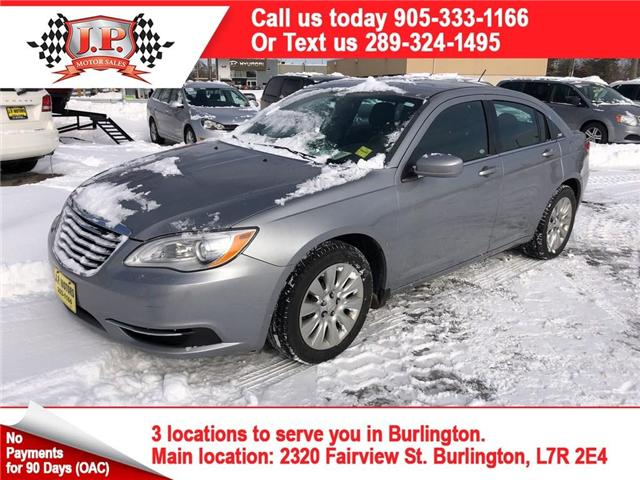 2014 Chrysler 200 LX (Stk: 45633r) in Burlington - Image 1 of 22
