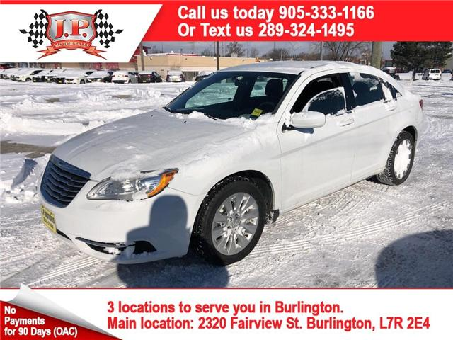 2014 Chrysler 200 LX (Stk: 45634r) in Burlington - Image 1 of 22