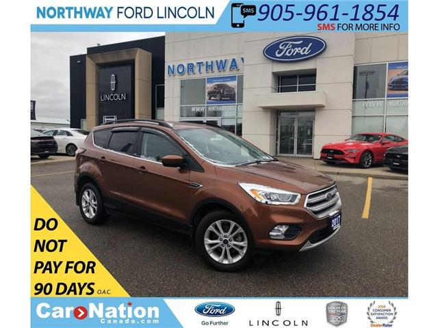 2017 Ford Escape SE | HTD LEATHER | NAV | PWR LIFTGATE | 201A (Stk: EC81085A) in Brantford - Image 1 of 19
