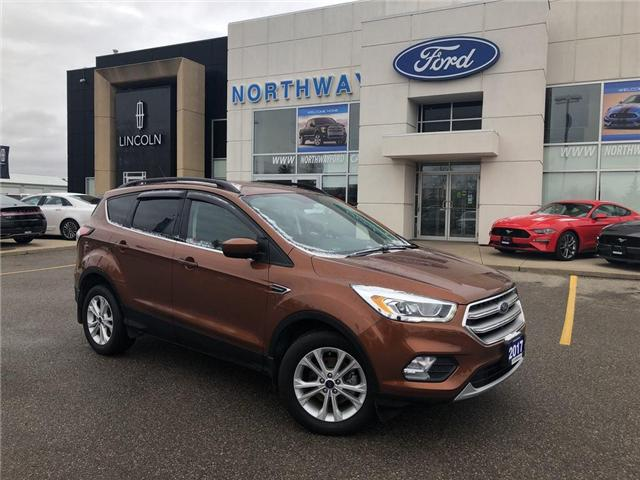 2017 Ford Escape SE | HTD LEATHER | NAV | PWR LIFTGATE | 201A (Stk: EC81085A) in Brantford - Image 2 of 19