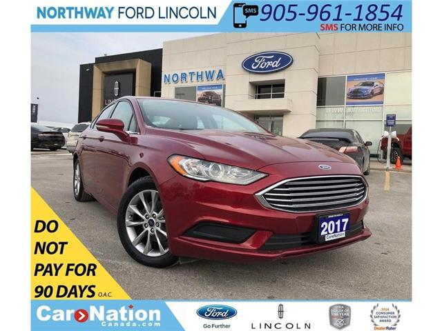 2017 Ford Fusion SE | WINTER PACK | REAR CAMERA (Stk: P5091) in Brantford - Image 1 of 23