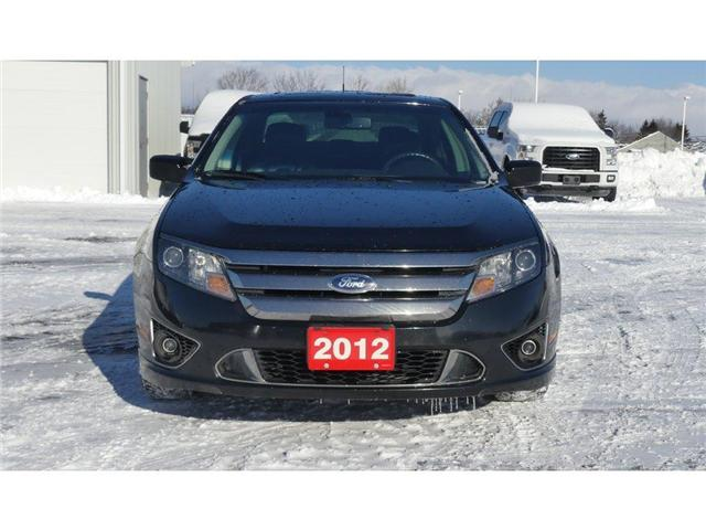 2012 Ford Fusion SPORT | AWD | HTD LEATHER | MOONROOF | (Stk: P5082A) in Brantford - Image 2 of 27
