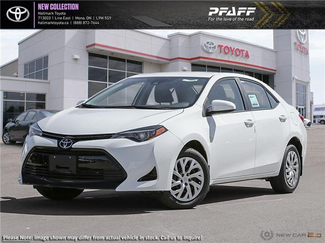 2019 Toyota Corolla 4-door Sedan LE CVTi-S (Stk: H19240) in Orangeville - Image 1 of 23