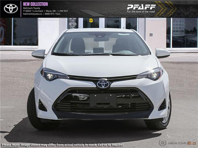 2019 Toyota Corolla 4-door Sedan LE CVTi-S (Stk: H19240) in Orangeville - Image 2 of 23