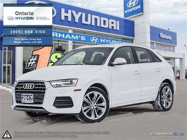 2017 Audi Q3 2.0T Progressiv / Pano Roof (Stk: 04699K) in Whitby - Image 1 of 27