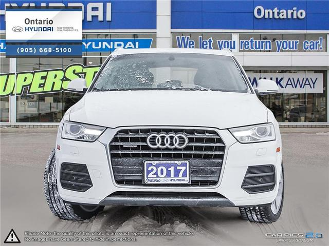 2017 Audi Q3 2.0T Progressiv / Pano Roof (Stk: 04699K) in Whitby - Image 2 of 27