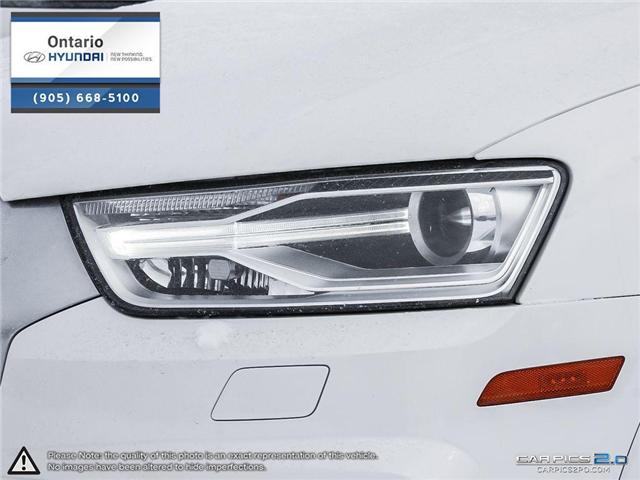 2017 Audi Q3 2.0T Progressiv / Pano Roof (Stk: 04699K) in Whitby - Image 10 of 27