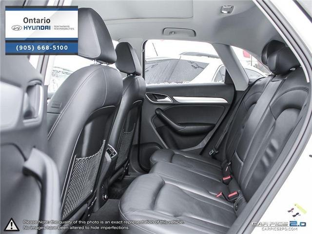 2017 Audi Q3 2.0T Progressiv / Pano Roof (Stk: 04699K) in Whitby - Image 25 of 27