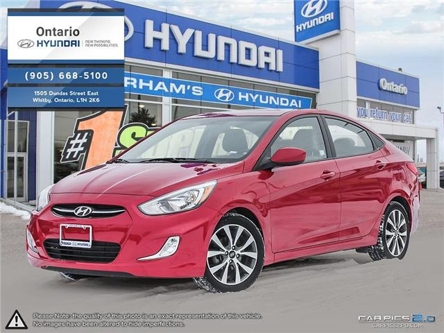 2017 Hyundai Accent SE / Sunroof (Stk: 42963K) in Whitby - Image 1 of 27