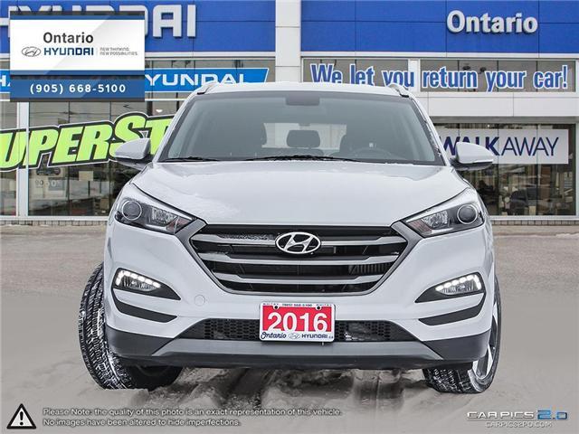 2016 Hyundai Tucson Premium 1.6 / AWD (Stk: 52324K) in Whitby - Image 2 of 27