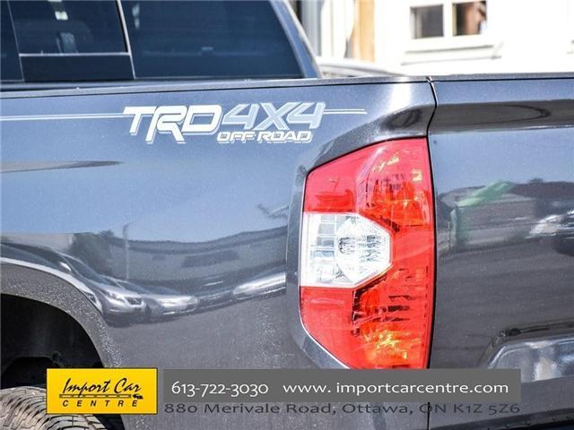 2017 Toyota Tundra SR5 Plus 5.7L V8 (Stk: 674537) in Ottawa - Image 6 of 26