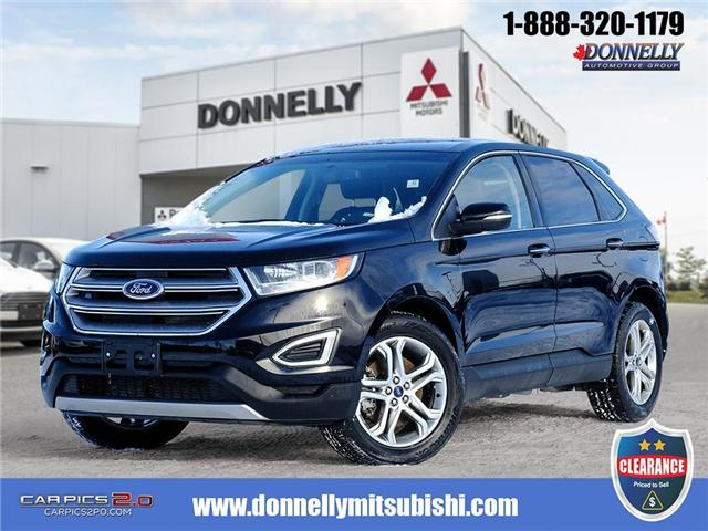 2018 Ford Edge Titanium (Stk: CLMUR940) in Kanata - Image 1 of 27