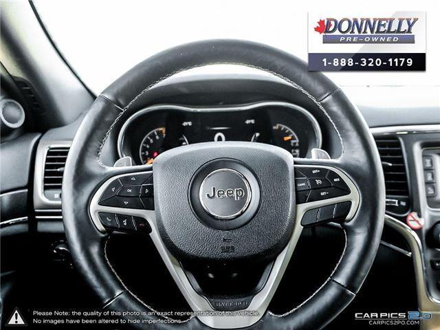 2017 Jeep Grand Cherokee Limited (Stk: CLKUR2213) in Kanata - Image 14 of 28