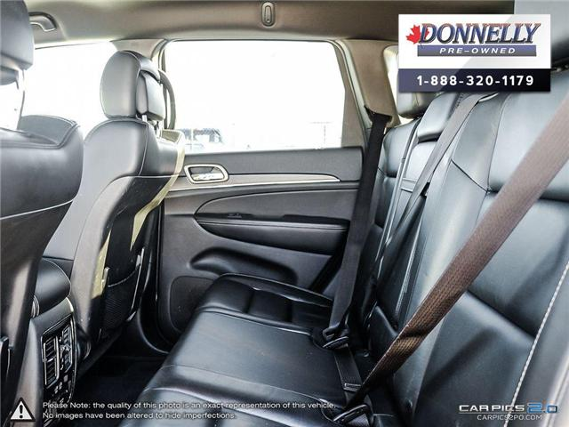 2017 Jeep Grand Cherokee Limited (Stk: CLKUR2213) in Kanata - Image 26 of 28