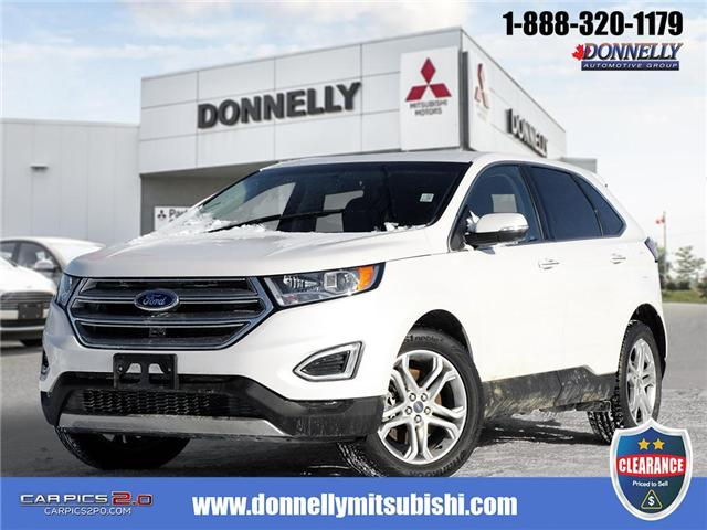 2018 Ford Edge Titanium (Stk: CLMUR941) in Kanata - Image 1 of 27