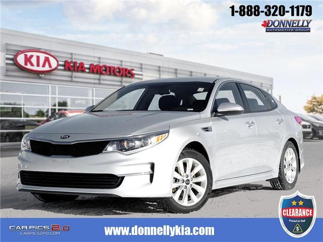 2018 Kia Optima LX+ (Stk: CLKUR2221) in Kanata - Image 1 of 27