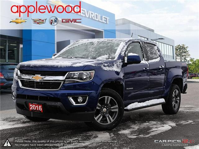 2016 Chevrolet Colorado LT (Stk: 3040P1) in Mississauga - Image 1 of 27