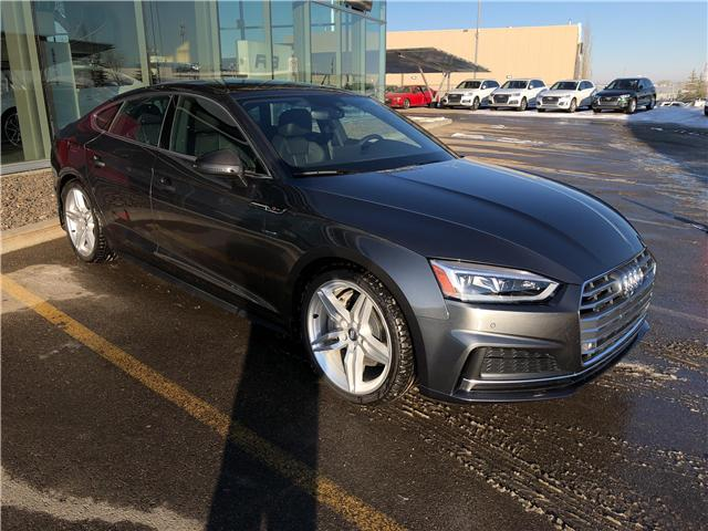 2018 Audi A5 2.0T Technik (Stk: N4900) in Calgary - Image 1 of 24