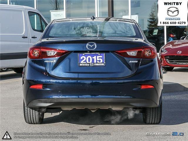 2015 Mazda Mazda3 GT (Stk: P17401) in Whitby - Image 5 of 27
