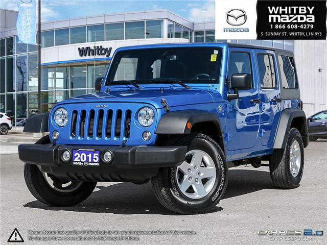 2015 Jeep Wrangler Unlimited Sport (Stk: 180611A) in Whitby - Image 1 of 27