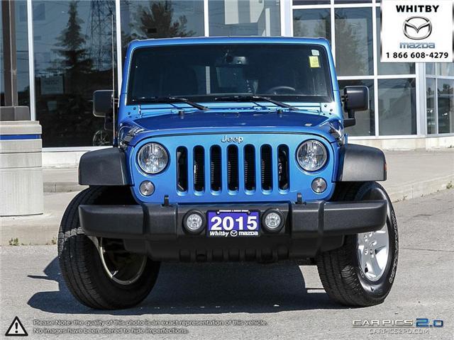 2015 Jeep Wrangler Unlimited Sport (Stk: 180611A) in Whitby - Image 2 of 27