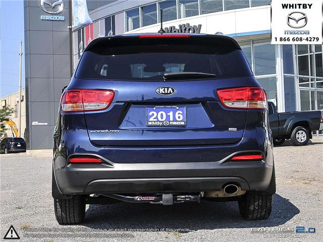 2016 Kia Sorento 2.4L LX (Stk: 180661A) in Whitby - Image 5 of 27