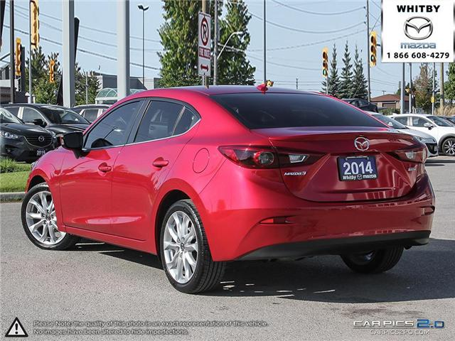 2014 Mazda Mazda3 GT-SKY (Stk: 180687A) in Whitby - Image 4 of 27