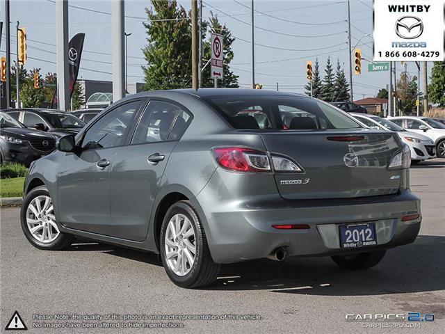2012 Mazda Mazda3 GS-SKY (Stk: 180827A) in Whitby - Image 4 of 27