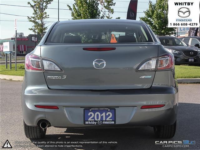 2012 Mazda Mazda3 GS-SKY (Stk: 180827A) in Whitby - Image 5 of 27