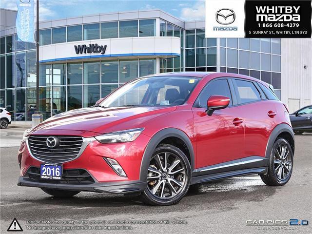 2016 Mazda CX-3 GT (Stk: P17370) in Whitby - Image 1 of 27