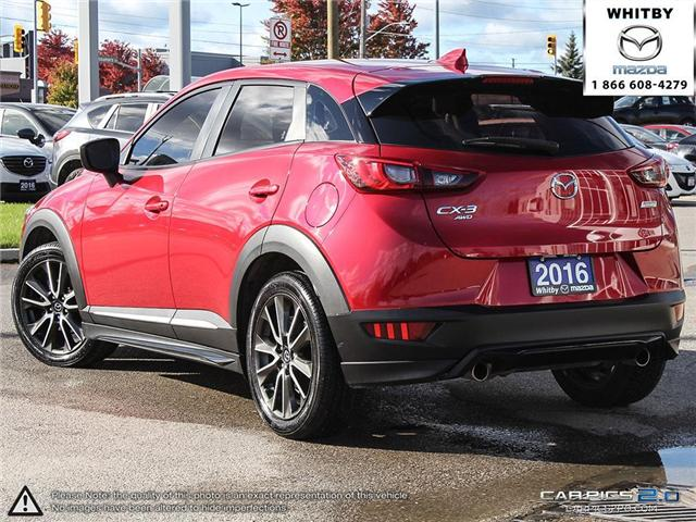 2016 Mazda CX-3 GT (Stk: P17370) in Whitby - Image 4 of 27
