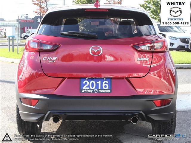 2016 Mazda CX-3 GT (Stk: P17370) in Whitby - Image 5 of 27