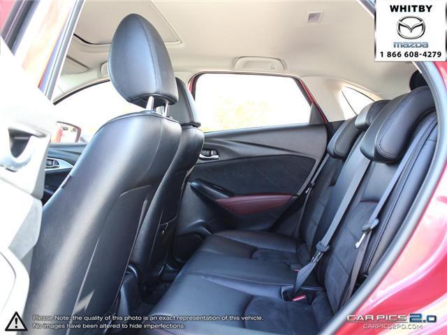 2016 Mazda CX-3 GT (Stk: P17370) in Whitby - Image 25 of 27